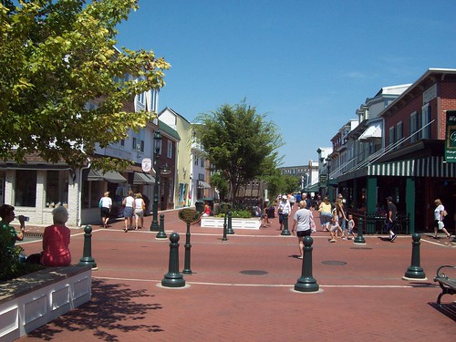 Cap May pedestrian mall I