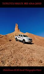 Toyota HiLux SR5 4x4 (2011) (Abdulrhman Ali Al Sanidi) Tags: mountains olympus saudi zuiko e30 qassim  1122mm    alqassim