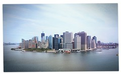 Downtown Manhattan (scottdunn) Tags: nyc newyork skyline manhattan aerial kap governorsisland kiteaerialphotography
