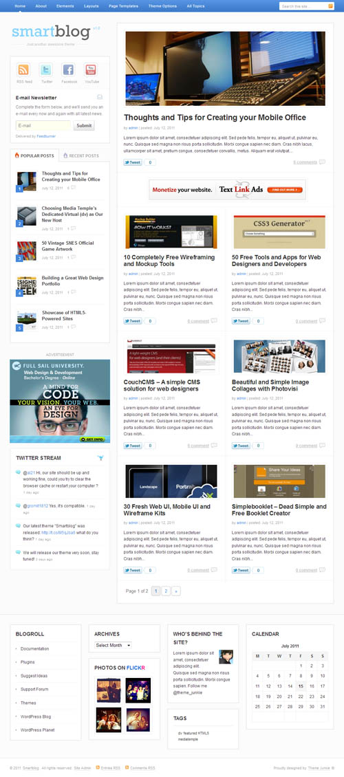 smartblog-wordpress-theme