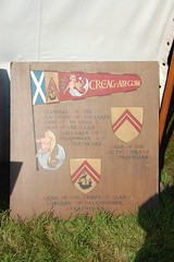 Clan MacLaren board - Lochearnhead Games 23 July, 2011