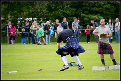 Nant Stone (ShinyPhotoScotland) Tags: summer people motion colour nature weather sport stone scotland argyll seasonal places gb acr highlandgames 2011 taynuilt genrearty