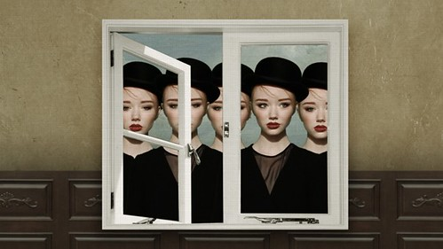 Magritte Inspired Video Still via becauselondon 01