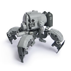 MaK B3 - KriegsLufer (Fredoichi) Tags: robot lego space military walker mecha mak mech dieselpunk fredoichi