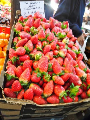 Fremantle Markets Strawberies