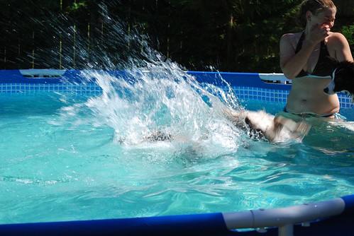 Swimming July 2011