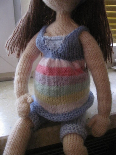 Pregnant doll 1