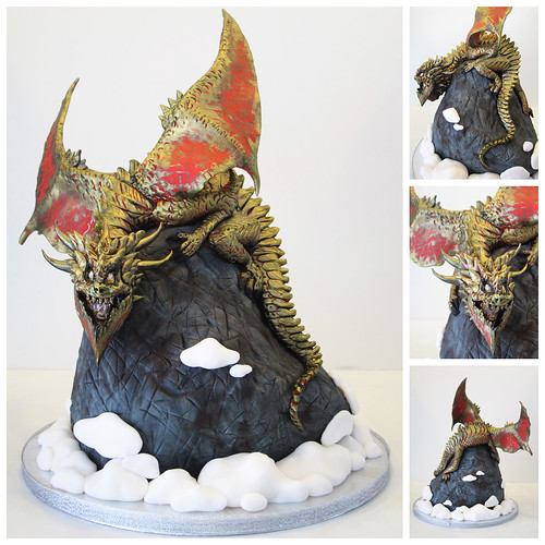 dragon on mountain top