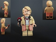 The Fifth Doctor (billbobful) Tags: screw lego who 5 five dr sonic doctor driver 5th screwdriver fifth
