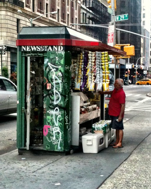 classic newsstand on 29th #walkingtoworktoday