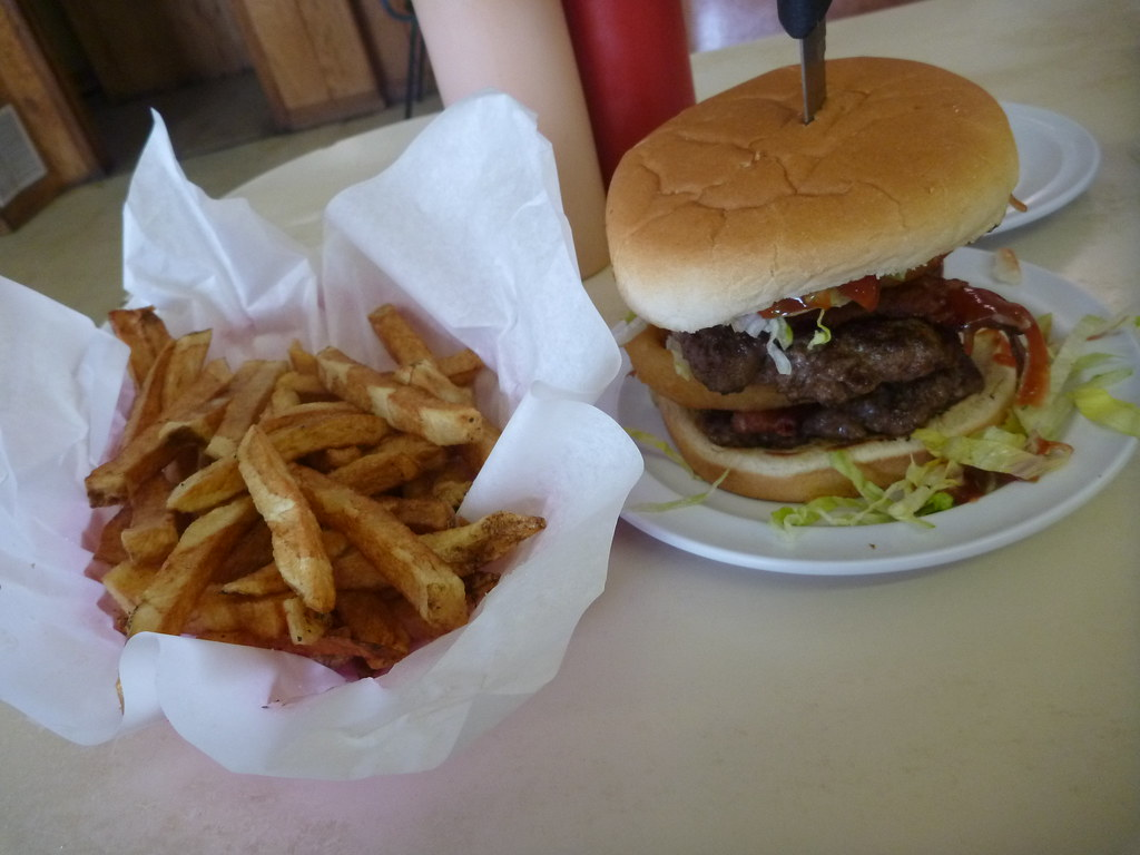 Big Jud's Double Rodeo Burger