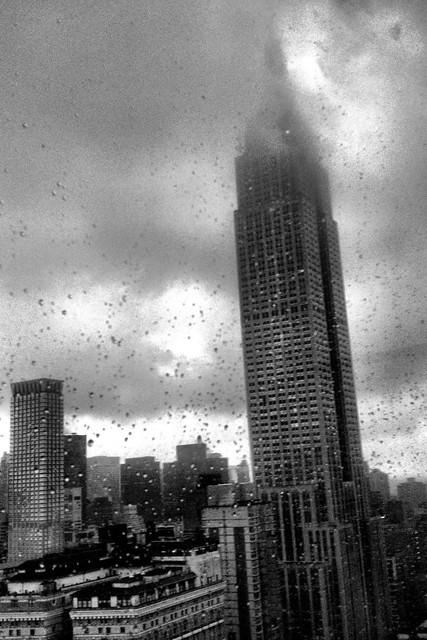 Rainy Empire State Building