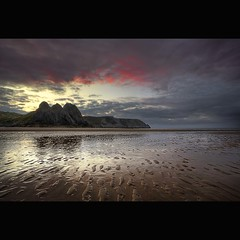 """ RIPPLING "" (Wiffsmiff23) Tags: threecliffsbay thegower colorphotoaward"