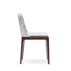Sedia Bardò S di Midj (Midjsedie) Tags: sedie bianco sedia nero pelle legno tessuti midj laccato braccioli