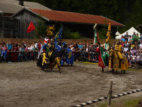 Impressionen Ritterspiele Ehrenberg - die Zeitreise 2011