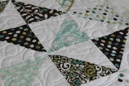 Wedding Quilt Close Up