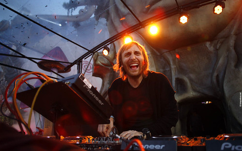 Tomorrowland 2011 - Wallpaper (1920x1200) - David Guetta