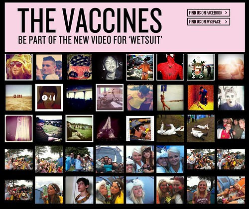 Instagram Music Video for The Vaccines by stevegarfield