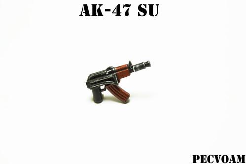 Custom minifig AK-47 SU