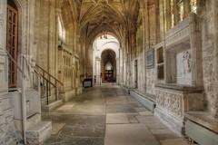 Inner hallway (deshealy2002) Tags: sea christchurch church seaside nikon dorset priory d90 christchurchpriory doublyniceshot mygearandme ringexcellence artistoftheyearlevel3
