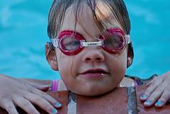 SuMmEr FuN... (GAYLE O ~ I AM SLOOOOWLY COMING BACK ..) Tags: blue summer water pool goggles bluewater adorable summerfun bluenails outdoorfun