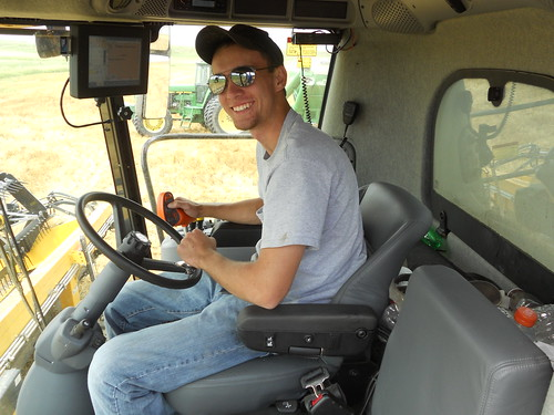 Brandon in cab