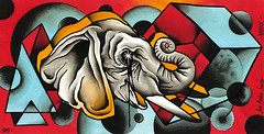 elefante (piranhart) Tags: piranha fourthdimension cuartadimension xpiranhax juanmanuelsancho 4tadimension