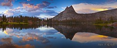 Yosemite National Park - Upper Cathedral Lake - July 30, 2011 (markarlilly) Tags: longexposure sunset panorama panoramic sierra yosemite backcountry thunderstorm yosemitenationalpark sierras johnmuir tuolumne highsierra tuolumnemeadows cathedralpeak pnp johnmuirtrail cathedrallake uppercathedrallake singhray perfectsunsetssunrisesandskys
