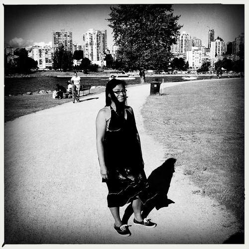 Me at Vanier Park
