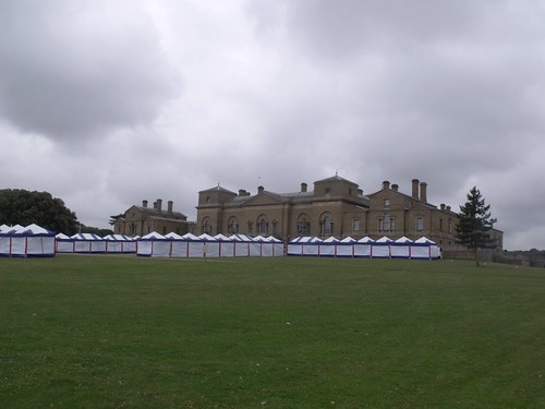 Holkham Hall - Holkham Country Fair - tents