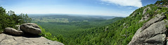 Old Rag Panorama (Gabriel Hasser) Tags: park panorama mountain forest view hiking trail stitching oldragmountain shenandoahnationalpark oldrag tamron1750mm nikond7000