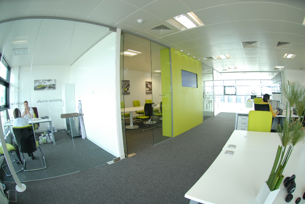 glasgow office fit-out