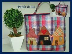 Frasqueira (Patch da Lu) Tags: bolsa maleta aplique frasqueira frasqueirapatchwork