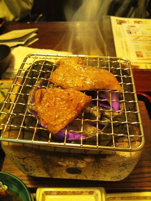飛騨牛焼き焼きの写真