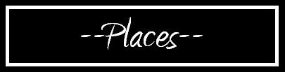 Places Banner