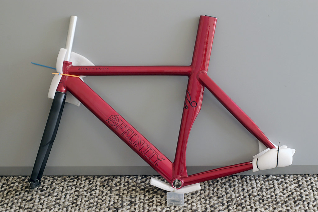 For Sale Affinity Kissena Xs Track Frame Red 49cm
