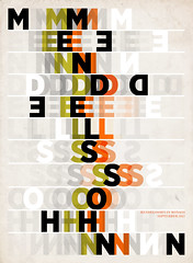 Mendelssohn (Paul N Grech) Tags: musician music poster typography design graphicdesign movement monaco kinetic violin orchestra classical illustrator symphony composer gigposter mendelssohn paulgrech
