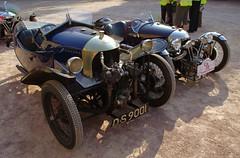 Morgan Aero / Morgan Super Sport (a_c_h_i_l_l_e) Tags: grand retro mg prix morgan notre dame derby puy bsa threewheeler cyclecar amilcar sandford tracta darmont tricyclecar