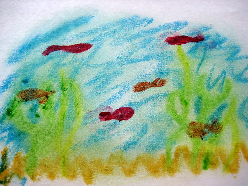 oil pastels how to use with children