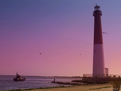 Barnegat Lighthouse ( Long Beach Island, N.J)2. (NataThe3) Tags: ocean sunset sky sun seascape nature colors niceshot nj wave lbi barnegatlighthouse waterscape thegalaxy mygearandme magicmomentsinyourlifelevel1
