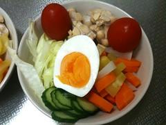 朝食サラダ(2011/8/4)