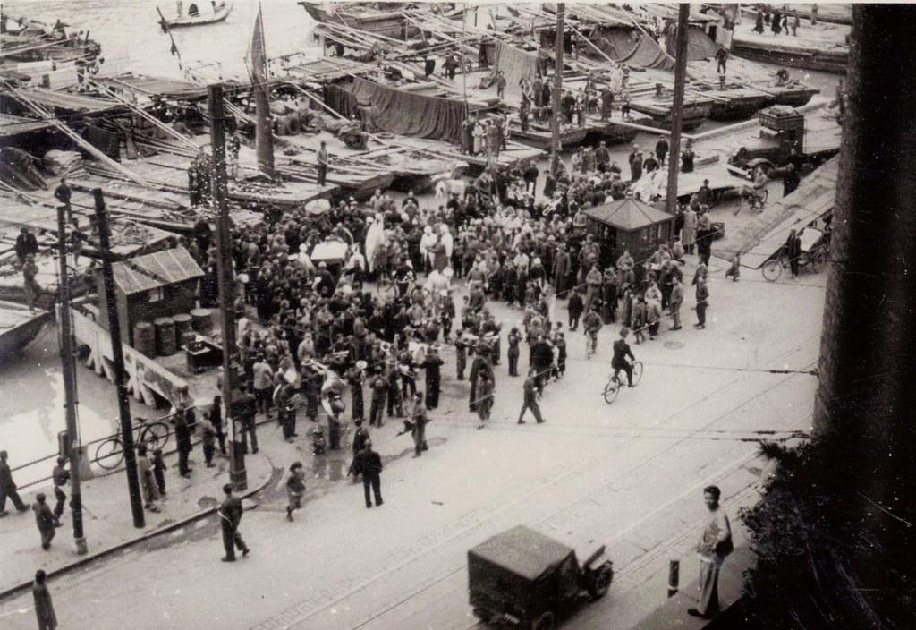 1947, Shanghai, the ceremony