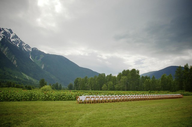 Araxi Long Table Dinner in Pemberton, B.C.