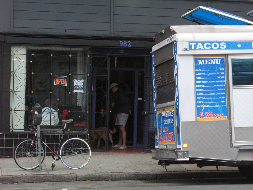 Bamboo Bike Studio and Taco Truck
