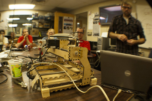 ShapeOko at Milwaukee Makerspace