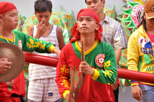( Trống Cù ) Music for Dragon Dance