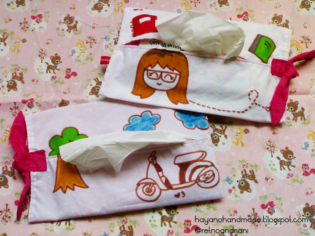 crayon tissue pack