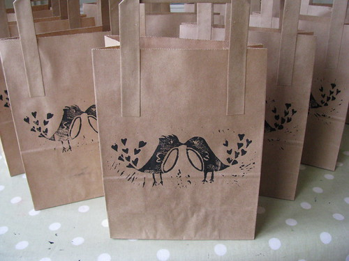 My favour bags by Handmade and Heritage