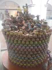 Abel Avalos Guerrero - 'Sueos 2003' (sftrajan) Tags: sculpture ceramica museum mexico ceramics jalisco musee figurines museo tlaquepaque museopremionacionaldelacermicapantelenpanduro museopremionacionaldelacermica galardonpresidencial abelavalosguerrero
