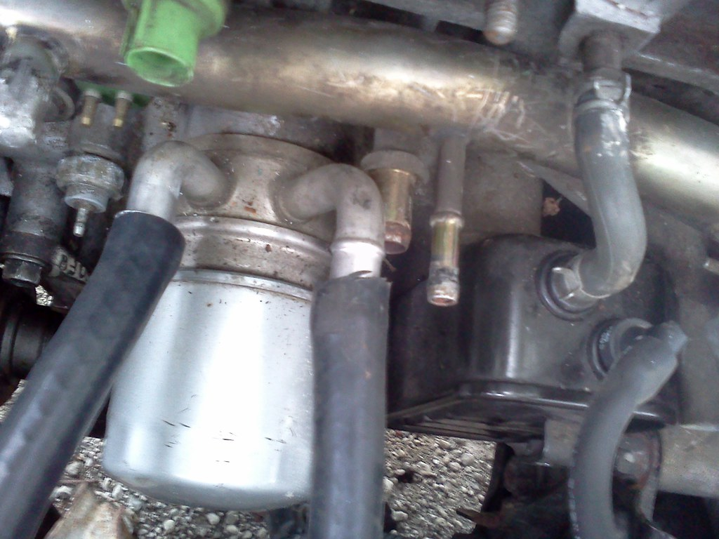 Where do these hoses go? Gurus come this way PCV OIL COOLER
